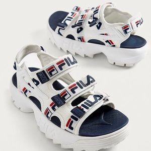Fila Disruptor 大童款运动凉鞋 凑单折后价$18.75