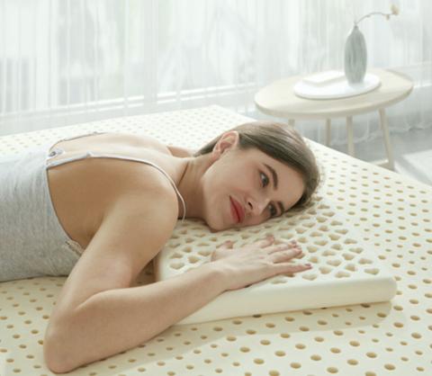 考拉海购黑卡会员: POKALEN 泰国天然乳胶平面低薄枕头 61*34*4cm 低至141.12元/件