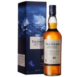 88VIP: talisker 泰斯卡 10年苏格兰斯凯岛单一麦芽威士忌 700ml 198.55元包邮(多重优惠)