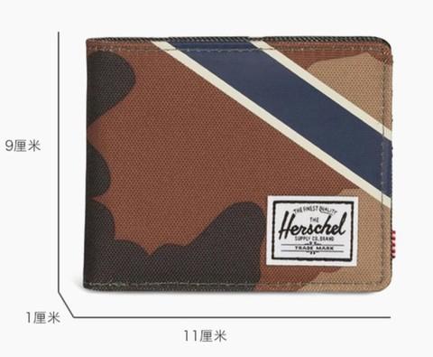 考拉海购黑卡会员: Herschel Supply Roy RFID offset系列 10363 短款钱包 100.32元包邮(立减)