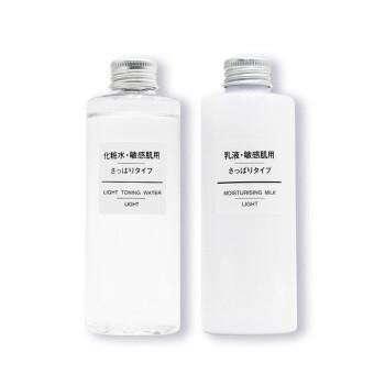 11日10点: MUJI 无印良品 敏感适用水乳套装(400ml+400ml) 119元包邮包税