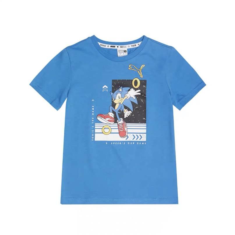 12号0点:PUMA彪马 儿童 SEGA联名款 圆领短袖T恤 598565 19.5元包邮(需用券、518件)