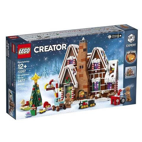 百亿补贴:LEGO乐高益智积木玩具礼物冬季圣诞系列 姜饼屋10267 645元包邮