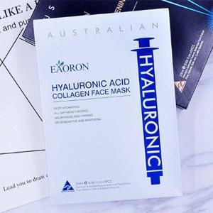 【3盒装】EAORON 水光针白面膜玻尿酸胶原蛋白补水面膜 5片/盒 AU$39.95(约¥199)包邮包税