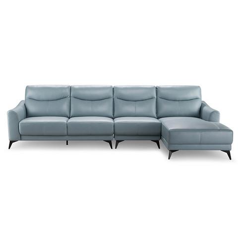 15日0点: ZUOYOU 左右 ZY2020 真皮客厅沙发 转二件 2.55m 8999元包邮