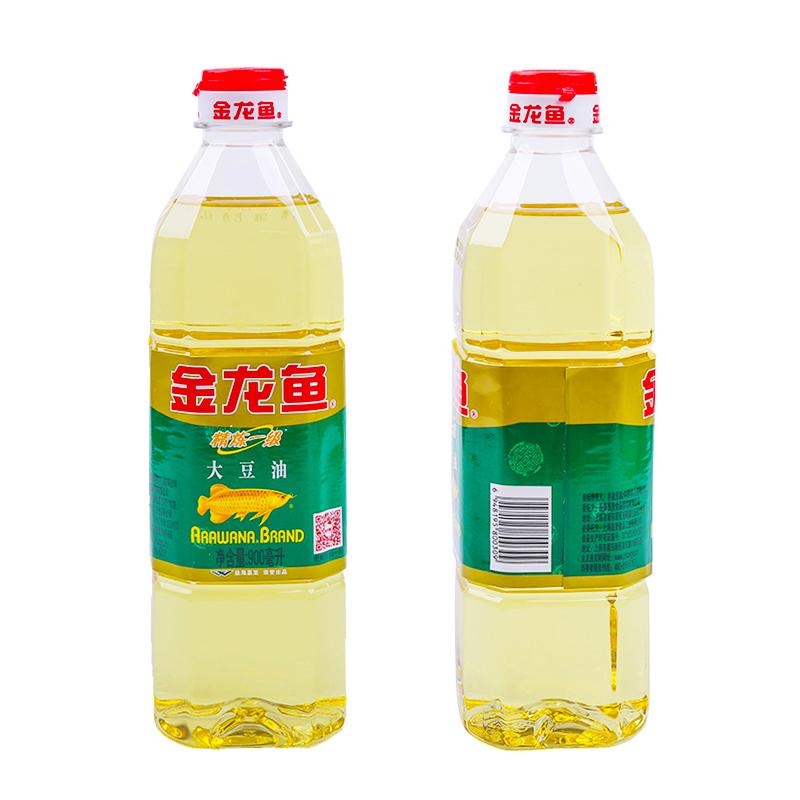 百亿补贴:金龙鱼 精炼一级大豆油 900ml*2瓶 8.9元包邮(需用劵)