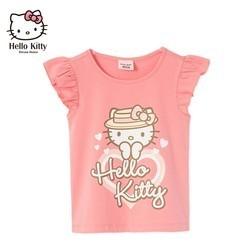 百亿补贴: Hello Kitty 凯蒂猫 女童洋气短袖上衣 35元包邮