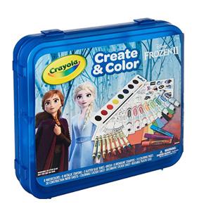 Crayola绘儿乐冰雪奇缘2 Create & Color 创意涂色礼盒套装 到手约¥90.98