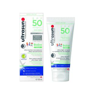 Ultrasun优佳 儿童专用抗敏矿物质防晒乳SPF50 100ml 到手约¥172.56