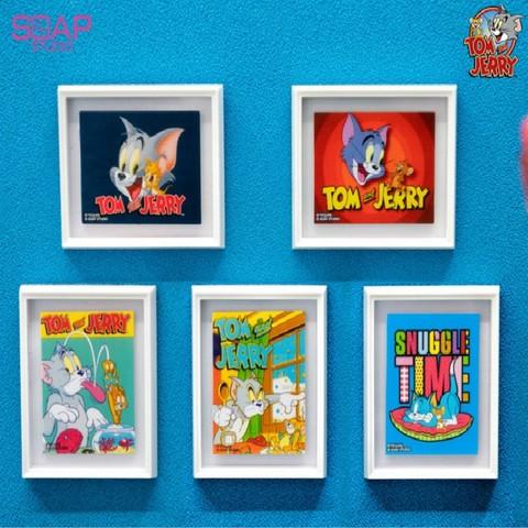 soapstudio 猫和老鼠 美术馆系列磁贴画迷你艺术画盲盒 随机1款 36元包邮
