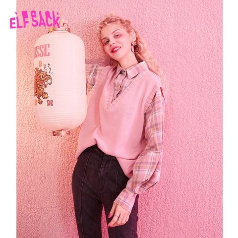 elf sack 妖精的口袋 10106001 女士针织衫 137.57元包邮(需用券)