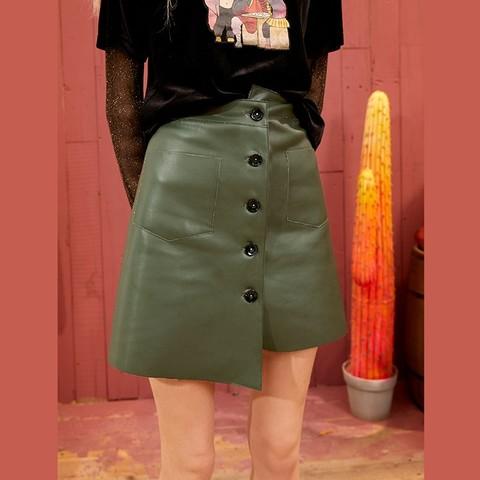elf sack 妖精的口袋 10117022 女士不规则短款半身裙 107.57元包邮(需用券)
