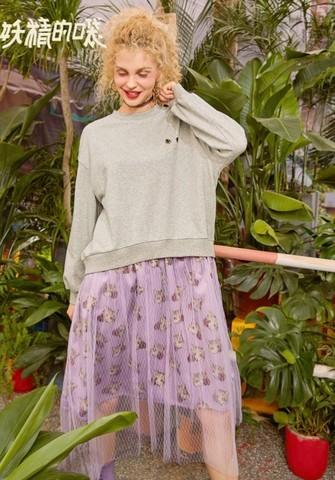 elf sack 妖精的口袋 19400151 女士连衣裙 129.75元包邮(需用券)