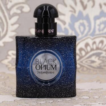 包邮包税!YSL Black Opium限定蓝鸦片香水 90ml 85折€80.1(约631元)