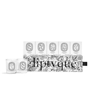 补货!Diptyque mini香薰蜡烛5件套 售价$55
