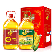 福临门 食用油 玉米油+营养家调和油3.09L*2*2件 114元(双重优惠,合57元/件)