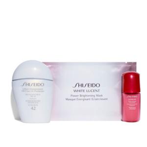 补货!Shiseido 白胖子防晒3件套装 售价$40.8+满赠3重好礼