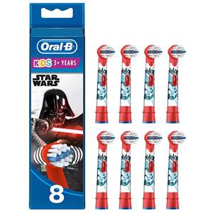 Oral-B欧乐B 电动牙刷头8支 星际大战款 到手约¥140.15