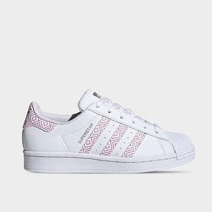 adidas阿迪Superstar粉色大童款贝壳头 折后价$25