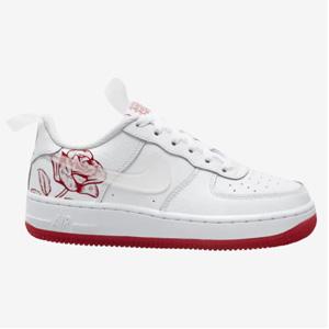 Nike Air Force 1 空军一号玫瑰印花大童运动鞋 折后价$76.5