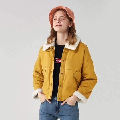 Semir 森马 13D068080053-3446 女款外套夹克 125元包邮(需用券)