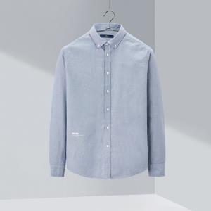 HLA海澜之家HNEAD1Q002A02男士牛津纺衬衫 78元