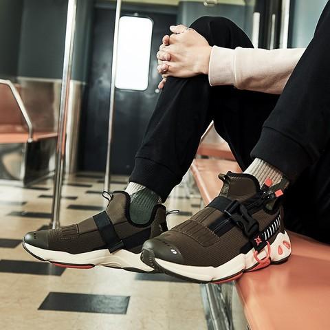 361° 671846707 男款复古跑步鞋 92元包邮