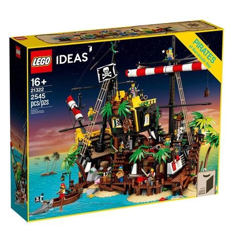 百亿补贴: LEGO 乐高 Ideas 21322 梭鱼湾海盗沉船 1280元包邮