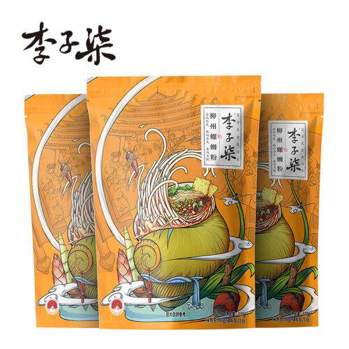 10点开始:李子柒 柳州螺蛳粉 335g*3袋 34.6元包邮