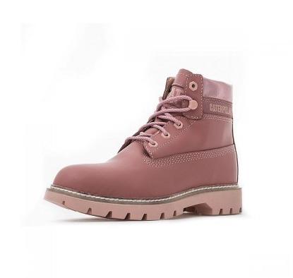 百亿补贴、移动专享: CAT 卡特 P310988I3BDC55 女士LYRIC粉色休闲靴 278元包邮(需用券)