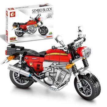 SEMBO BLOCK 森宝积木 科技机械系列 CB750摩托 282颗粒 22元包邮(需用券)