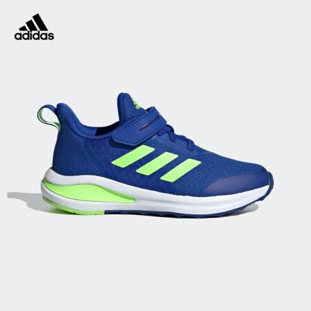 双11预售: adidas 阿迪达斯 FortaRun EL K 小童训练运动鞋 FV2625 FW2580 129元包邮(需定金20元,1日付尾款)