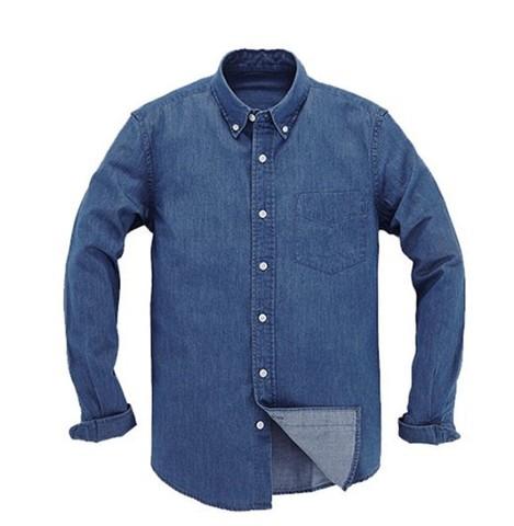 VANCL 凡客诚品 1093354 男士纯棉牛仔衬衫 低至103.2元/件