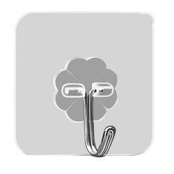 WONG SIN SIN 强力透明挂钩 5个 1.9元包邮(需用券)
