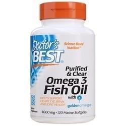 Doctor's BEST 深海鱼油软胶囊 120粒*2瓶 278元包邮包税(需定金40元,1日0点30分付尾款)