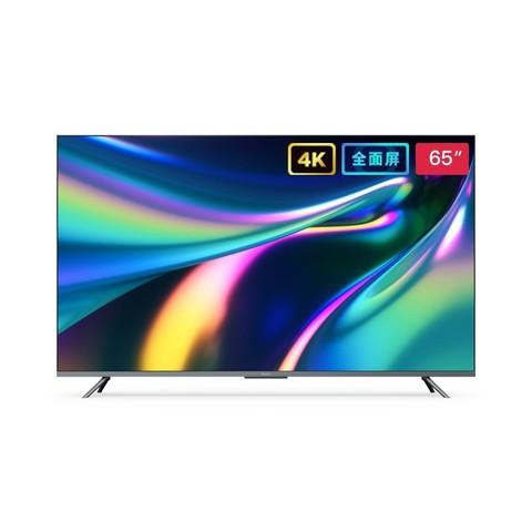 双11预售: Redmi 红米 X65 L65M5-RK 65英寸 4K 液晶电视 2999元包邮(需50元定金,1日付尾款)