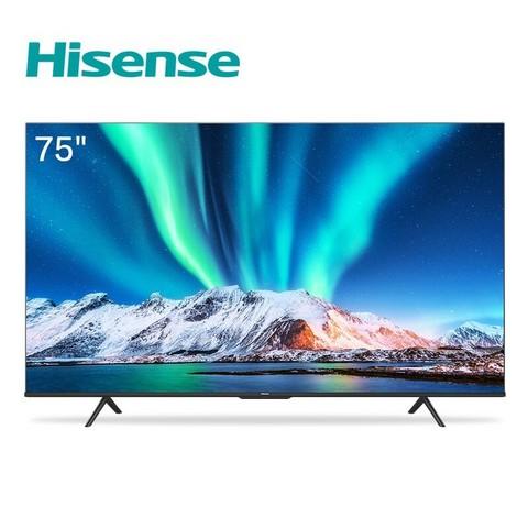 26日0点: Hisense 海信 75E3F 75英寸 4K液晶电视 4299元包邮