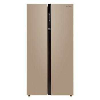 聚划算百亿补贴: Midea 美的 BCD-521WKM(E) 双开门冰箱 521L 2209元包邮(需用券)