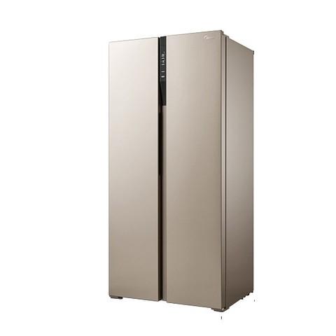 聚划算百亿补贴: Midea 美的 BCD-450WKZM(E) 对开门冰箱 450L 2219元包邮(需用券)