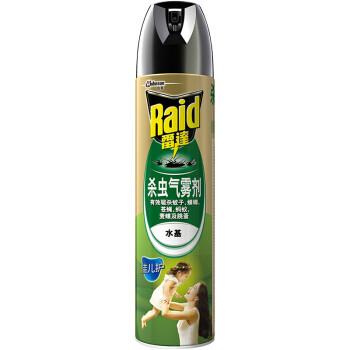 Raid 雷达 佳儿护 杀虫气雾剂 无香 600ml +凑单品 9.52元(双重优惠)