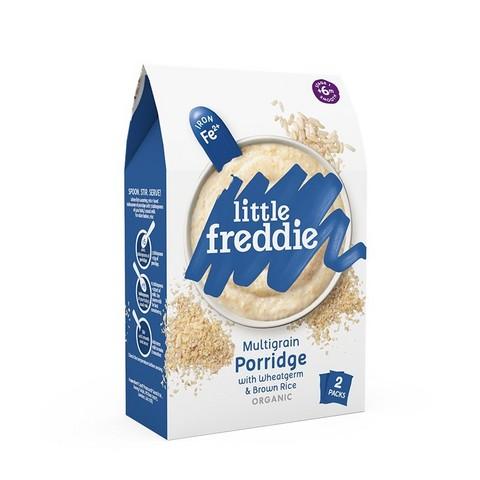88VIP: LittleFreddie 小皮 有机高铁米粉糙米粉 2段 160g *3件 117.7元包邮(需用券,合39.23元/件)