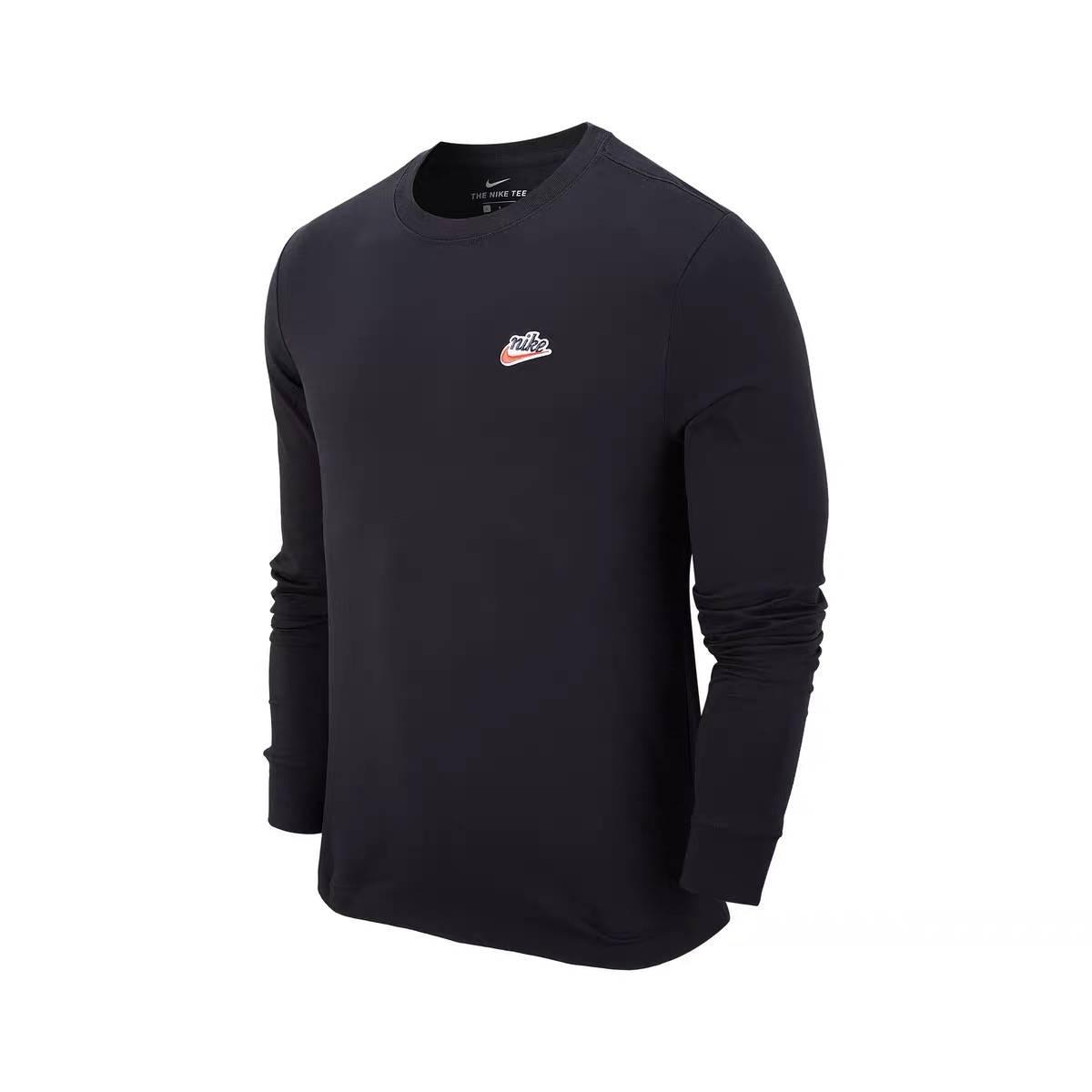 双11预售:Nike 耐克 SPORTSWEAR HERITAGE 男子长袖T恤 CZ5141 99元包邮(需用券)