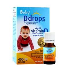 88VIP: Baby Ddrops 婴儿复合维生素D3滴剂 400IU 90滴*2瓶 136.8元包邮(需用券)