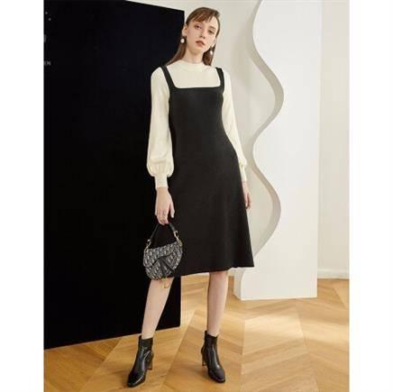 26日10点:范思蓝恩 Z95261 女士针织连衣裙 79元包邮
