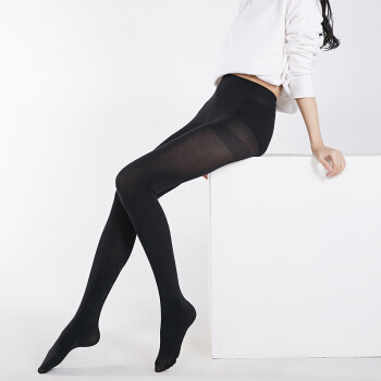 J.ZAO 京东京造 女士保暖连裤袜 110D 2条装 19.9元包邮(需用券)