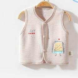 熊仔贝贝 9063 婴儿秋冬纯棉马甲 9.9元包邮(需用券)