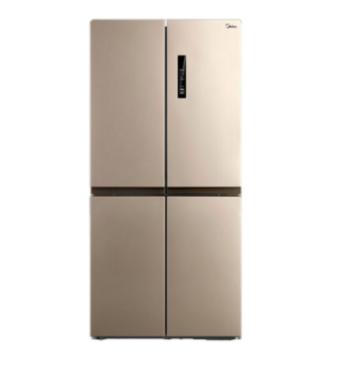 Midea 美的 BCD-468WTPM(E) 变频十字对开门冰箱 468L 芙蓉金 2899元包邮