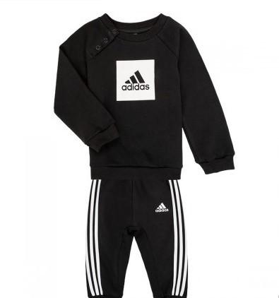 adidas 阿迪达斯 男童长袖运动套装 134元包邮