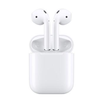 聚划算百亿补贴: Apple 苹果 新AirPods(二代)真无线蓝牙耳机 有线充电盒版 788元包邮(需用券)