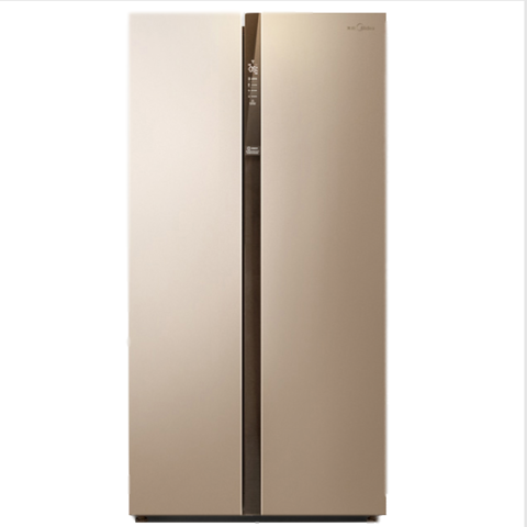 聚划算百亿补贴: Midea 美的 BCD-528WKPZM(E) 对开门冰箱 528L 2404元包邮(需用券)